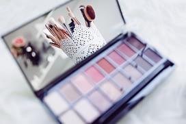 a box of eye makeup